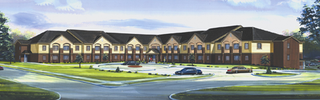 Artistic rendering of Emerson Point